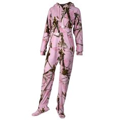 Camo adult onesie probably the only onesie I'll wear Country Girls Outfits, Country Girl Style, Country Fashion, Country Life, Camo Outfits, Girl Outfits, Camo Swimwear, Camo Lingerie, Pink Camouflage