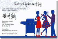 Sparks will fly high this 4th of July! These 4th of July invitations from Inviting Company are perfect for inviting friends to a patriotic BBQ!