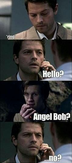 Castiel would be an awesome companion #SPN #doctorwho