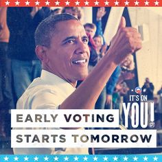 Florida: let's do this. http://vote.barackobama.com