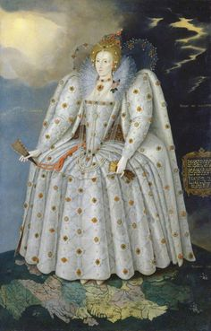 Marcus Gheeraerts le Jeune, 'Elisabeth Ière, dit The Ditchley Portrait', circa 1592. Huile sur toile