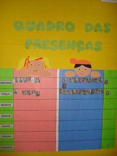 Resultado de imagem para quadros de monitorização da sala no pre escolar Books, Portuguese, Amanda, Attendance Board, Daycare Ideas, Infant Activities, Kids Education, Frames, Instruments