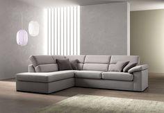 Risultati immagini per divano grigio con penisola