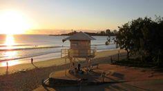 Winter morning - Mooloolaba Beach - Sunshine Coast Australia