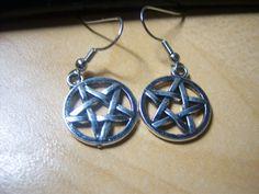 Supernatural Pentagram Earrings