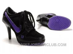 http://www.nikejordanclub.com/womens-nike-dunk-high-heels-low-shoes-black-purple-authentic.html WOMEN'S NIKE DUNK HIGH HEELS LOW SHOES BLACK/PURPLE AUTHENTIC Only $76.11 , Free Shipping!