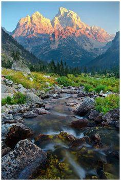 Grand teton national park . USA