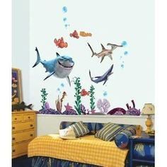 Provide Finding Nemo Wall Sticker Removable Vinyl Mural Nursery Kids Room  Decor Decals In High Quality, Cute Vinyl Wall Stickers Quotes And Classical  Wall ... Part 87