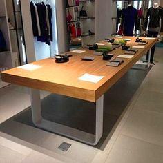 特價美式複古鐵藝會議桌電腦桌書桌loft實木辦公桌工作台長桌餐桌-淘寶網