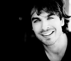 ian somerhalder / Black and White Photography