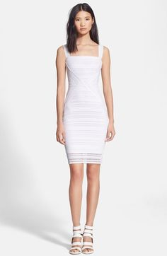 Tracy Reese Stripe Lace Sheath Dress available at #Nordstrom