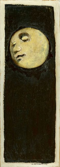 """""""She used to tell me that a full moon was when mysterious things happen and wishes come true."""" ― Shannon A. Thompson. (art by William Hemmerling)"""