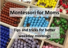 """Prepare the night before"" and other helpful suggestions from Knoxville Montessori School on making your back to school morning routine as smooth as possible."
