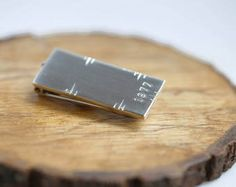60th Birthday Ideas Perfect Milestone Gift For A Guy That Has Everything Custom Money Clip From The Year