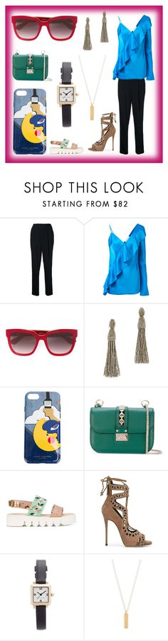 """set for amazing"" by denisee-denisee ❤ liked on Polyvore featuring Diane Von Furstenberg, Gucci, Oscar de la Renta, Marc Jacobs, Valentino, Leo Studio Design, Giuseppe Zanotti and Maya Magal"