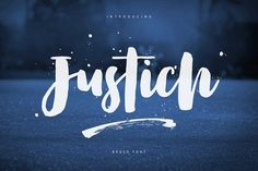Justich Brush Font INTRODUCE Justich Brush Font a new handcrafted brush script font with uniquely characters. Justich Brush Font is a new cute & uniquely hand Script Typeface, Handwritten Script Font, Calligraphy Fonts, Street Art, Brush Script, Illustrator Cs, Cool Fonts, Pretty Fonts, Beautiful Fonts
