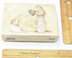 HOUSE MOUSE MOUSE DROPS BY STAMPABILITIES HMGR1006 Rubber Stamp   #STAMPABILITIES #RUBBERSTAMP