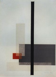 László Moholy-Nagy, Abstract Composition, 1923