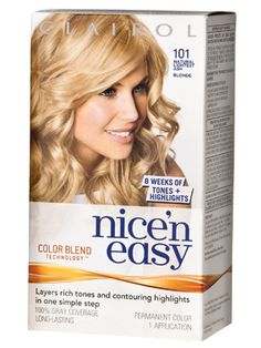 Clairol Nice N Easy - InStyle Best Beauty Buys 2013 Winner . If it isn't a color job that I know needs to be done in the salon, I am always buying different brands of at-home kits to try! Beauty Pie, Beauty Full, Hair Beauty, Box Hair Dye, Dyed Hair, Single Process Color, Color Blending, Beauty Industry, All Things Beauty