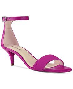 Nine West Leisa Two-Piece Kitten Heel Sandals   macys.com