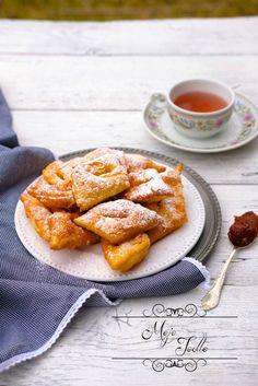 MÄKKUČKÉ FÁNKY Z OBÁLKY KNIHY - Moje Jedlo French Toast, Breakfast, Recipes, Anna, Food, Morning Coffee, Essen, Meals, Eten