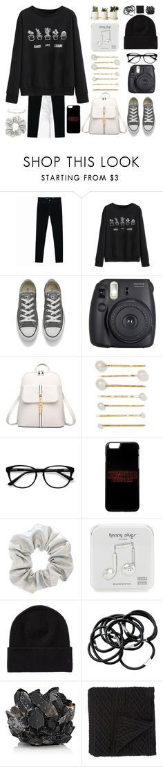 """I'd rather waltz than just walk through the forest"" by basmahahmed ❤ liked on Polyvore featuring WithChic, Converse, Fuji, Jennifer Behr, EyeBuyDirect.com, Happy Plugs, McCoy Design and Morgan Collection"