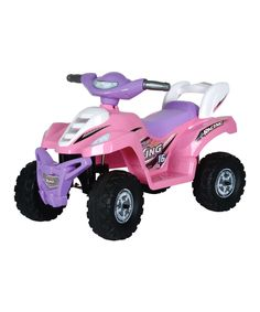 Another great find on #zulily! Pink Mini Racing Vehicle Ride-On by X-Toys #zulilyfinds