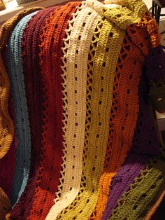 Wind Chime Afghan. making this over break