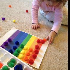 Learning Colors and developing Motor Skills!  Nannies With Love Tips!
