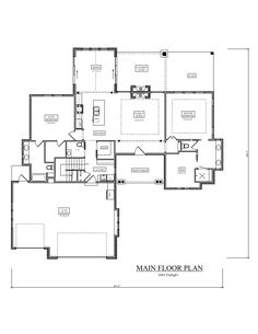 161-1068: Floor Plan Main Level (www.theplancollection.com)