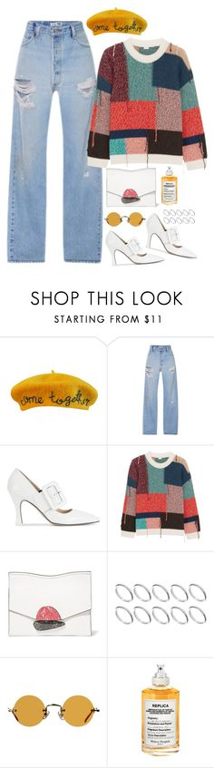 """Untitled #2042"" by samikayy76 ❤ liked on Polyvore featuring Cynthia Rowley, RE/DONE, Attico, STELLA McCARTNEY, Proenza Schouler, ASOS, Hakusan and Maison Margiela"