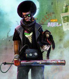Dan Luvisi  Seguimos en el mundo de la ilustración, la verdad es que llevaba varías semanas con un artista en la recámara, y con muchas ganas de publicar su trabajo, pero últimamente no he tenido demasiado tiempo.  Vamos al grano, Dan Luvisi es un artista digital que trabaja para el mundo de los videojuegos, cómics y del cine, vamos casi nada.