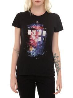 Outta this world Doctor Who tee.