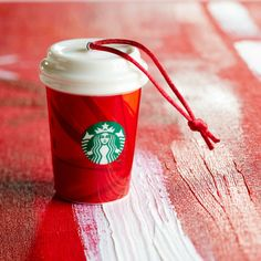 Red Holiday Cup Ornament | Starbucks® Store