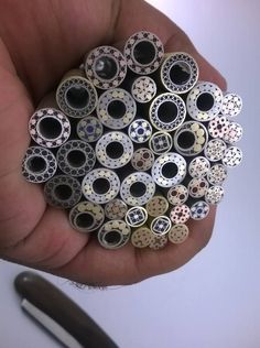 """Mosaic Pins and Lanyard Mosaic Pins for Knife Handles 1/8"""", 3/16"""", 1/4"""", 5/16"""" and 3/8"""", View mosaic pins for knives, Damascus Steel Product Details from M.B INDUSTRY on Alibaba.com"""