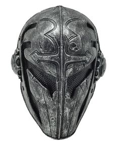 Black Templar Mask - Airsoft or Paintball