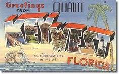 vintage postcards | Vintage Greetings From Vintage Postcards New Jersey, Florida