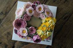 봄을 담은 꽃케익 ~~ [메종올리비아] 대구플라워케이크 : 네이버 블로그