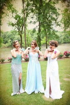 prom picture ideas   Prom pictures with the girls :)   Prom ideas