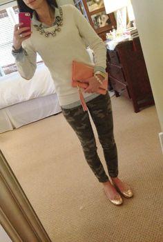 Like the camo pants