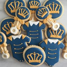 Baby Shower Vendor Products – Decorations, Favors, Invites - New Deko Sites Royalty Baby Shower, Royal Baby Shower Theme, Boy Baby Shower Themes, Baby Shower Gender Reveal, Baby Boy Shower, Royal Baby Party, Regalo Baby Shower, Baby Shower Favors, Baby Shower Parties