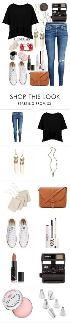 """""""black and blue"""" by annacc ❤ liked on Polyvore featuring Boohoo, LULUS, Alexandra Beth Designs, Forever 21, Converse, Topshop, Polaroid, Sephora Collection, Ateco and bluejeans"""