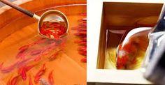 Resultado de imagen de tecnicas de pintura en metacrilato imagenes