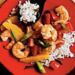 Garlic-Ginger Shrimp Stir-Fry Recipe | MyRecipes.com