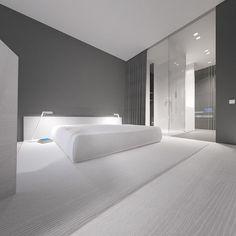 20 Refined Minimalist Bedroom Design Ideas - Interior Design Ideas & Home Decorating Inspiration - moercar Minimalist Home Interior, Minimalist Living, Minimalist Bedroom, Minimalist Decor, Modern Interior Design, Modern Bedroom, Minimalist Design, Minimalist Kitchen, Minimal Bedroom Design
