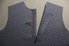 셔츠의 플라켓 봉제 법. : 네이버 블로그 Baby Dress Patterns, Sewing Hacks, Vest, Tips, Jackets, Blog, Fashion, Step By Step, Polo Neck