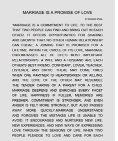 Wedding Quotes : Picture Description Dreams Riviera Cancun Ceremony 'Marriage is a promise of love' script Marriage Vows, Marriage Relationship, Happy Marriage, Marriage Advice, Love And Marriage, Quotes Marriage, Wedding Ceremony Readings, Wedding Ceremony Script, Wedding Poems