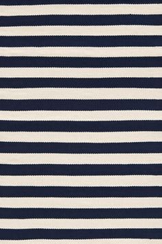 Trimaran Stripe Navy Indoor/Outdoor rug