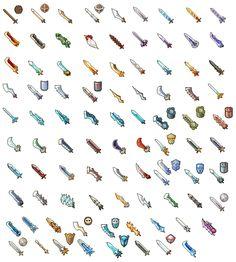 Swords? Pixel Artist: Dorong Source: pixeljoint.com