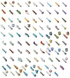Swords? Pixel Artist: Dorong Source: pixeljoint.com